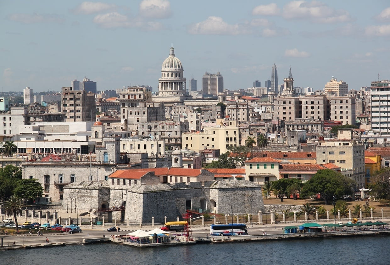 skyline of Havana, Cuba
