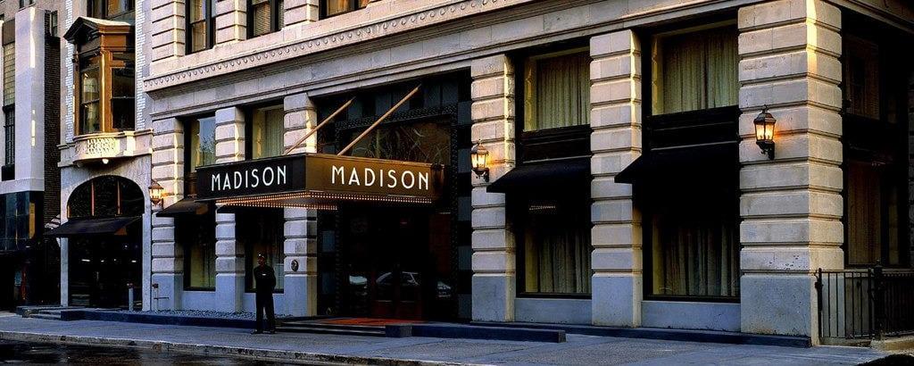 Madison entrance building