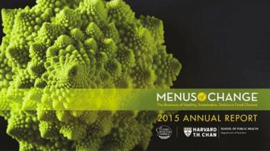 menus change black background 2015 annual report