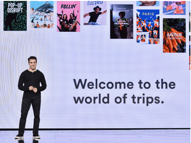 Welcome to the world of trips on with Brian Chesky
