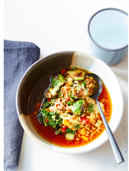 recipe for asian soup we helped create